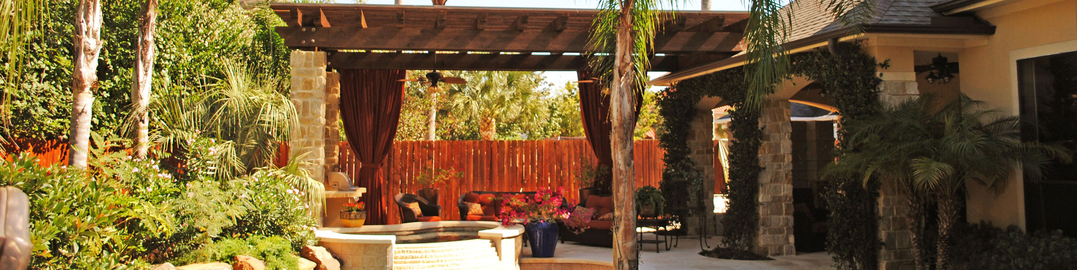 Katy Landscape Pergola Photo